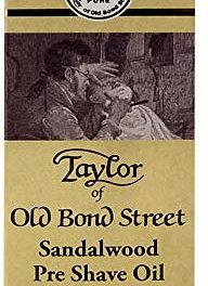 Taylor of Old Bond Street Huile pour Pré-rasage Santal 30 ml