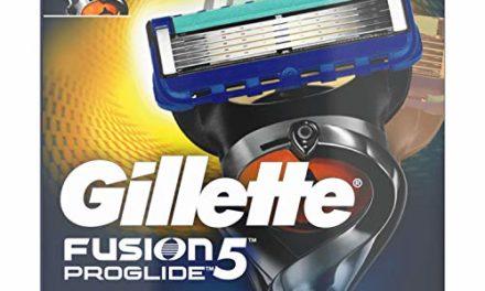 Gillette – Ancienne version – Lot de lames de rasoir Fusion…