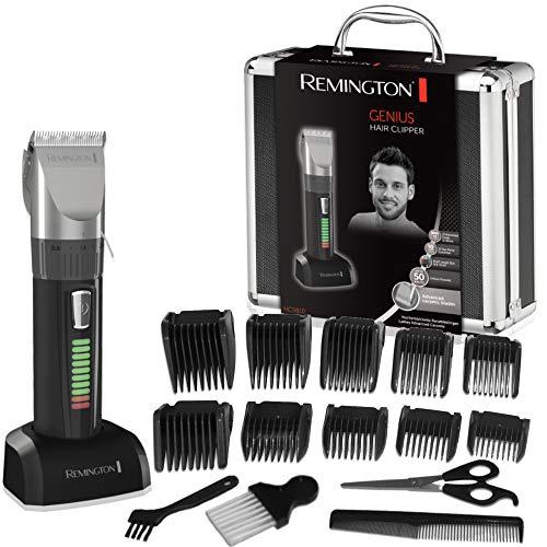 Remington Coffret Cheveux, Tondeuse Cheveux Homme, 10 Sabots,…