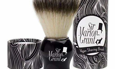 Sir Marlon Grant Blaireau vegan imitation poils de blaireaux…