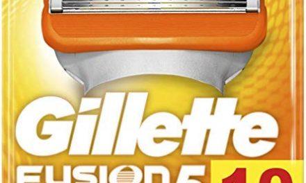 Gillette Lames Fusion 5 Power Homme, Pack de 10 Lames de Rasoir…