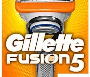 Gillette Rasoir Fusion 5 Homme + 6 Lames de Rasoir [Officiel]