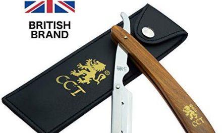 Kit de rasage coupe-choux Cambridge Cut Throat à verrouillage…