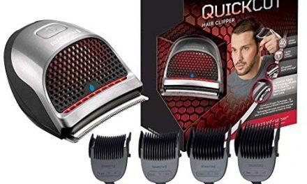 Remington HC4250 Tondeuse Cheveux QuickCut, Etanche, 9 Sabots,…