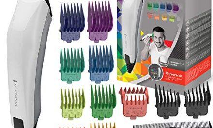 Remington HC5035 Coffret Cheveux ColorCut Homme, Tondeuse…