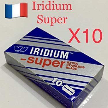 10X WIZAMET SUPER IRIDIUM Double Lame de Rasoir de Sûreté…
