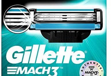 Ancienne version – Gillette Mach3 pack de 8 lames