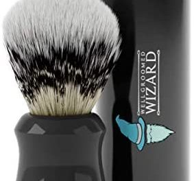 Well Groomed Wizard Blaireau Rasage Synthetique pour Homme |…