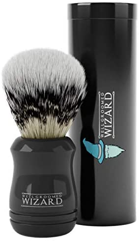 Well Groomed Wizard Blaireau Rasage Synthetique pour Homme  …