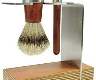Golddachs Lot de 2 rasoirs à raser 100% poils de rasage…