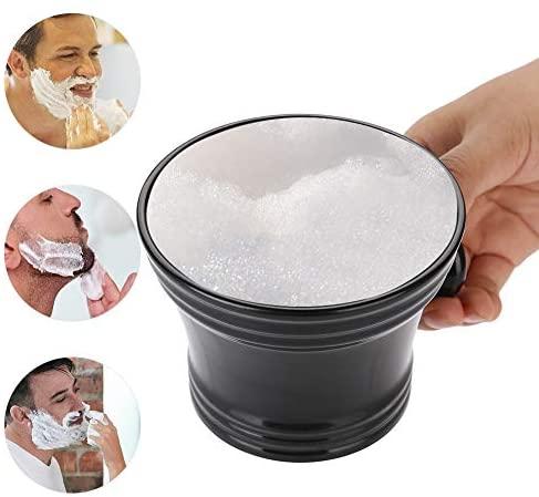 Bol de rasage, bol de crème de savon lisse de surface en…
