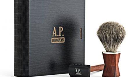 A.P. Donovan – Rasage Set – rasage humide classique, Barbier -…