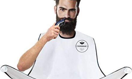BARBMAN : Le bavoir pour se raser la barbe sans laisser de…