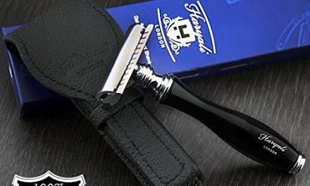 Rasoir de sécurité classique pour homme avec étui de protection…