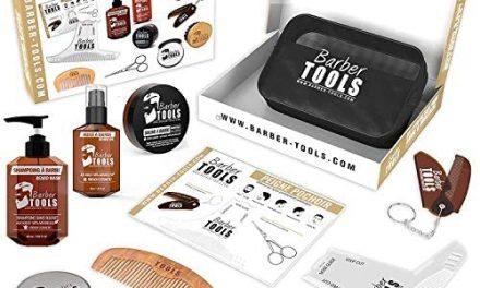 Kit/Set/Coffret d'entretien et de soin pour barbe avec Soin de…