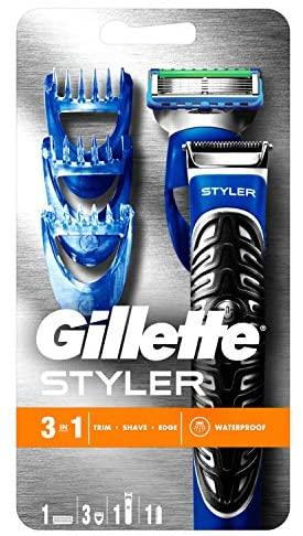 Gillette Fusion Styler Tondeuse 3-En-1: Tondeuse, Rasoir Et…