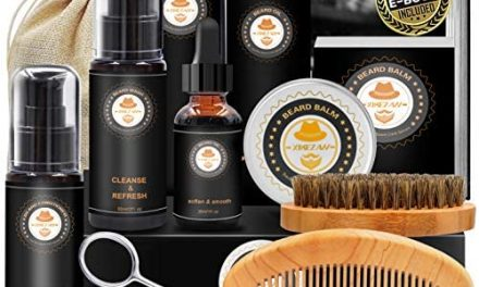 Kit de Barbe Homme Complet Coffret Barbe avec Conditionneur de…