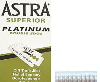 100 Astra Lames de Rasage avec Crayon Hémostatique.