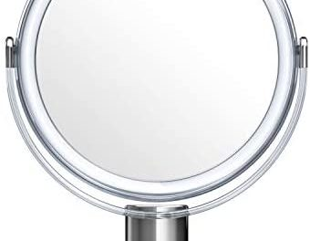 Beautifive Miroir Maquillage Grossissant 7x et 1x Pivot à Deux…