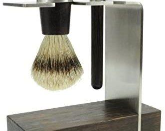 Golddachs Lot de 2 rasoirs avec blaireau 100% poils de rasage et…