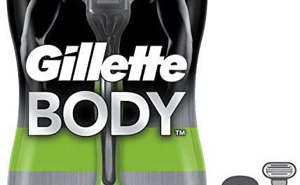 Gillette Body – Rasoirs Jetables pour le Corps – Pack de 3