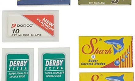 Derby Pack Contenant 40 Lames à Double Tranchant Astra-Dorco